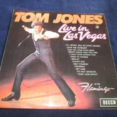 Tom Jones - Live In Las Vegas _ vinyl,LP_Decca(UK), VINIL, decca classics
