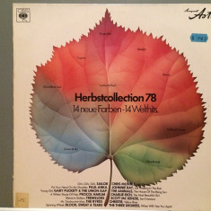 HerbstCollection '78 - VARIOUS ARTISTS (1978/CBS REC/West Germany) - VINIL - Muzica Rock Columbia