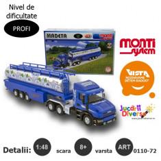 Macheta auto - Cisterna Scania - Madeta - MS 72