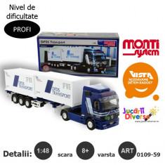 Macheta auto - TIR transport marfa - Mercedes Actros L - MS 59
