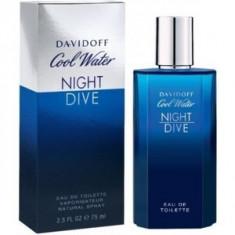 Davidoff Cool Water Night Dive eau de Toilette pentru barbati 125 ml - Parfum barbati Davidoff, Apa de toaleta