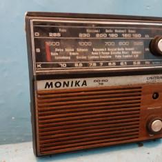 Radio vechi MONIKA - Aparat radio, 0-40 W