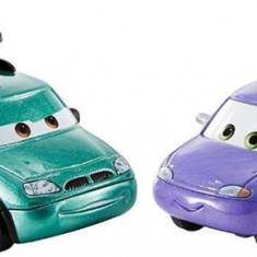 Masinute Disney Pixar Cars 3 Minny And Van - Masinuta Mattel