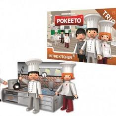 Chelner, bucatar si bucatareasa - Pokeeto Trio