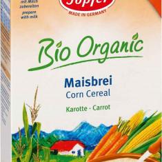 Cereale bebelusi Topfer Bio Porumb cu Morcovi fara lapte, de la 4 luni - Cereale copii