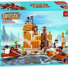 Set constructie - Fortul piratilor - COGO - 478 piese