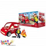 Pompier cu masina si accesorii - Pokeeto Car
