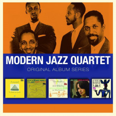 Modern Jazz Quartet The Original Album Series Boxset (5cd) - Muzica Jazz