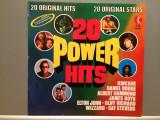20 POWER HITS - VARIOUS ARTISTS (1973/K-TEL Rec/West Germany) - VINIL, universal records