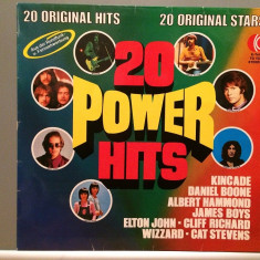 20 POWER HITS - VARIOUS ARTISTS (1973/K-TEL Rec/West Germany) - VINIL - Muzica Rock universal records