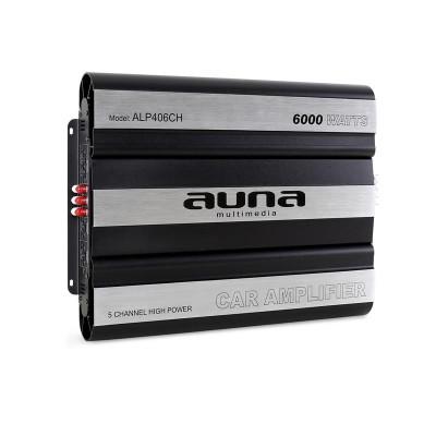 Amplificator de mașină AUNA 6000 Watt 5-Canale Bridgeable foto