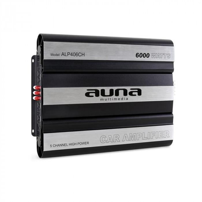 Amplificator de mașină AUNA 6000 Watt 5-Canale Bridgeable foto mare