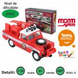 Macheta auto - Land Rover - masina de pompieri - MS 03