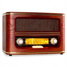 Radio Retro Auna Belle Epoque 1905 FM & AM - Aparat radio