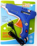 Pistol de lipit cu silicon 80W 11mm cu intrerupator HL-8-80W
