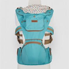 Port bebe Coccolle Cara, albastru deschis - Ham bebelusi DHS