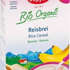 Topfer cereale bio orez cu banane fara lapte de la 4 luni - Cereale copii