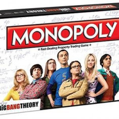 Joc The Big Bang Theory Monopoly Board Game