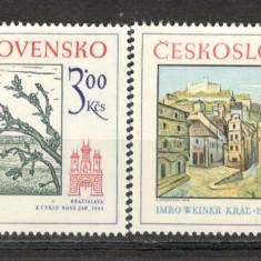 Cehoslovacia.1978 Motive istorice din Bratislava KC.85 - Timbre straine, Nestampilat