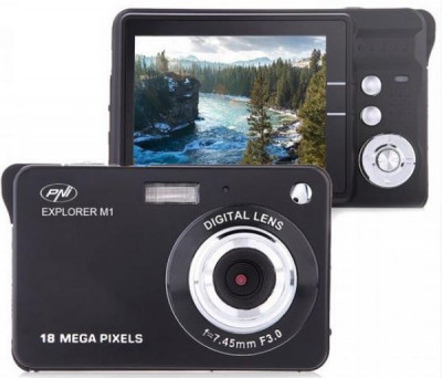 Camera foto digitala PNI Explorer M1 18MP display LCD 2.7 inch PNI-EXP-M1 foto
