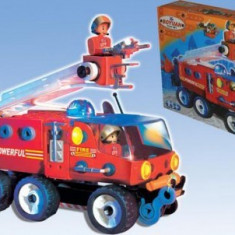 Masina de pompieri 5 in 1- 159 piese