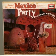 MEXICO PARTY - LOS TIJUANA MARIACHIS (1969/EUROPA Rec/West Germany) - VINIL - Muzica Latino universal records