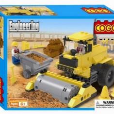 Set constructie - Buldozer compactor - COGO - 167 piese