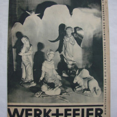 Revista germana din anul 1935 Werk + Feier (3)