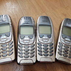Nokia 6310i lot 4 bucati - 439 lei - Telefon mobil Nokia 6310i, Argintiu, Neblocat