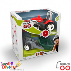 Tractor cu remorca si bena Pokeeto MULTIGO 1+2