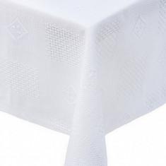Fata de masa Textilia, P.Art, bumbac alb, 150x220 cm - Fata De Masa Antichitati