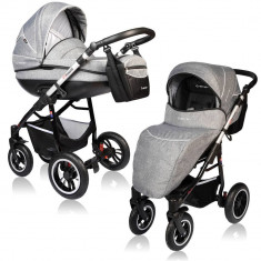 Carucior Crooner Prestige 2 in 1 - Vessanti - Gray