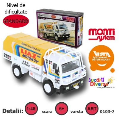 Macheta auto - Liaz - Dakar - MS 07 foto