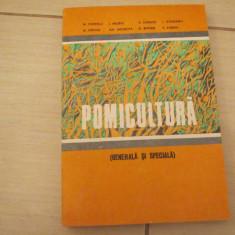 POMICULTURA GENERALA SI SPECIALA M.POPESCU - Carti Agronomie