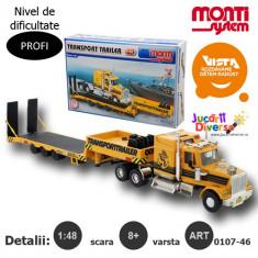 Macheta auto - Trailer de transport - Western Star - MS 46