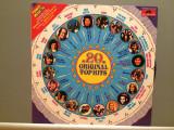 20 ORIGINAL TOP HITS - VARIOUS ARTISTS (1975/POLYDOR REC/West Germany) - VINIL, universal records