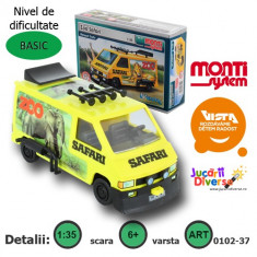 Macheta auto - Renault Trafic Safari - MS 37