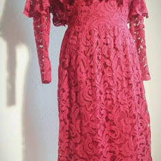 Rochie roz inchis - Rochie ocazie, Marime: 38