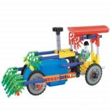 Tractor Genius cu baterii - 103 piese