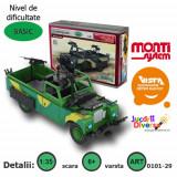 Macheta auto - Land Rover - masina de armata - MS 29