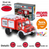 Macheta auto - Masina de pompieri - Mercedes Unimog - MS 16