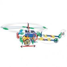 Elicopter Genius cu baterii - 233 piese - Elicopter de jucarie