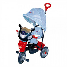 Tricicleta Jolly Ride albastru/rosu - Tricicleta copii DHS