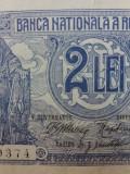 Bancnote romanesti 2lei 1915 vice guvernator mai raruta