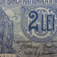 Bancnote romanesti 2lei 1915 vice guvernator mai raruta - Bancnota romaneasca