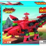 Set constructie - Dragon Ninja Bot 2 in 1 cu echipa de asalt - COGO - 160 piese