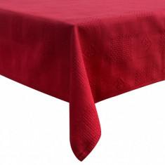 Fata de masa Textilia, P.Art, bumbac rosu, 120x150 cm - Fata De Masa Antichitati