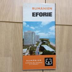 Pliant eforie litoral rumanien romania ghid turistic turism in limba germana - Ghid de calatorie
