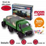 Macheta auto - Masina de armata - Mercedes Unimog - MS 30