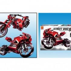 Set de construit - Motocicleta si chopper - 506 piese